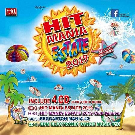 VA - Hit Mania Estate 2019 (4CD) (2019)