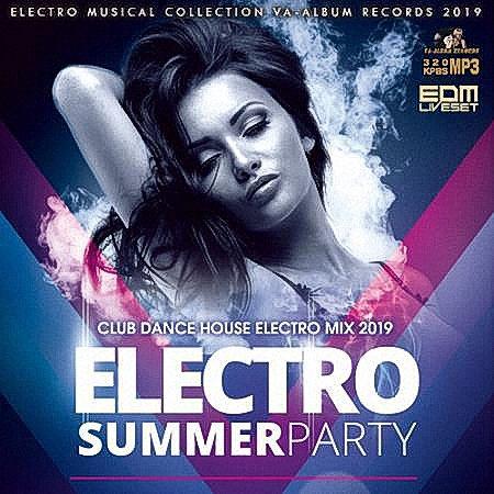VA - Original House Mix: Electro Summer Party (2019)