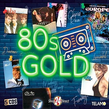 VA - 80s Gold (5CD) (2019)