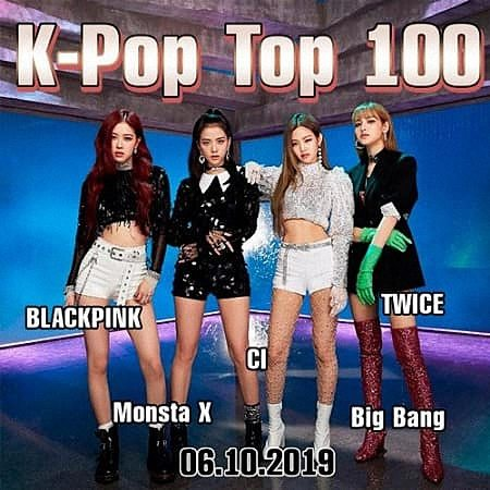 VA - K-Pop Top 100 (06.10.2019) (2019)