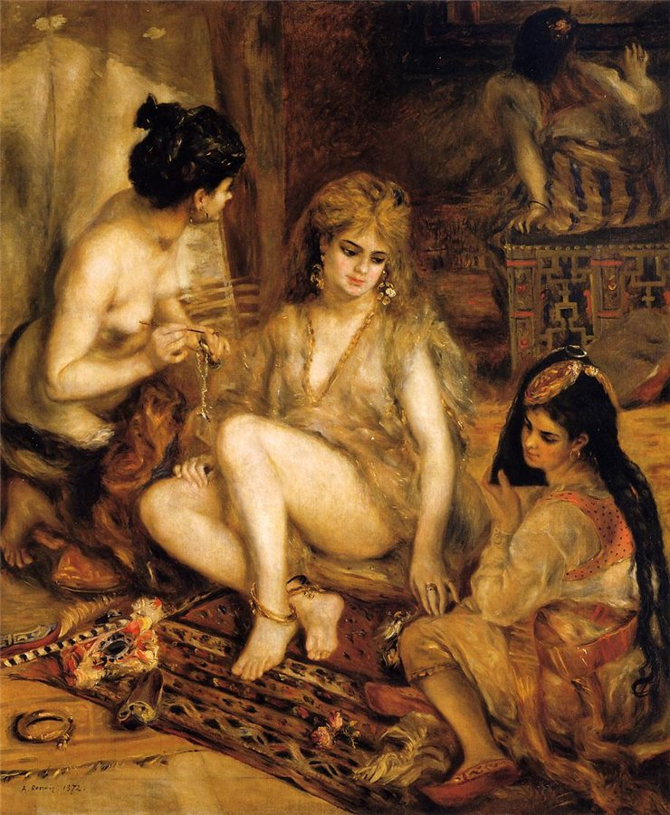 renoirs depection of women in 19th