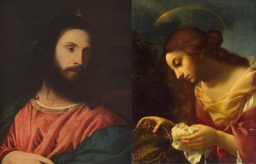 Иисус Христос и Мария