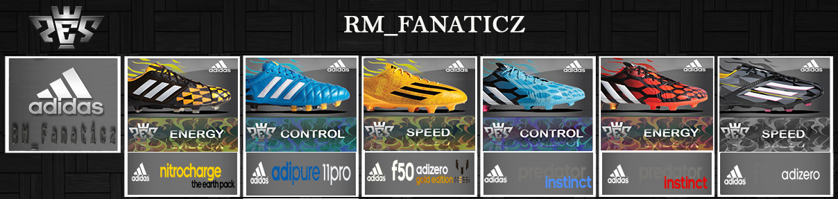 big sale 3c6a0 508c1 ... PES 2013 Update Preview Boot Adidas   Nike   Puma by RM Fanaticz ...