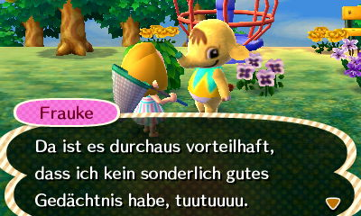 animal crossing new leaf augen am anfang