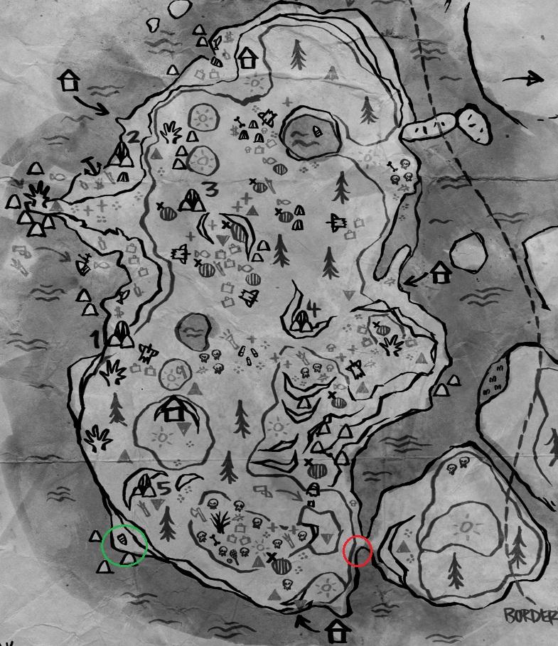 The Forest Karte Höhlen.Www Narutopedia Eu Thema Anzeigen The Forest