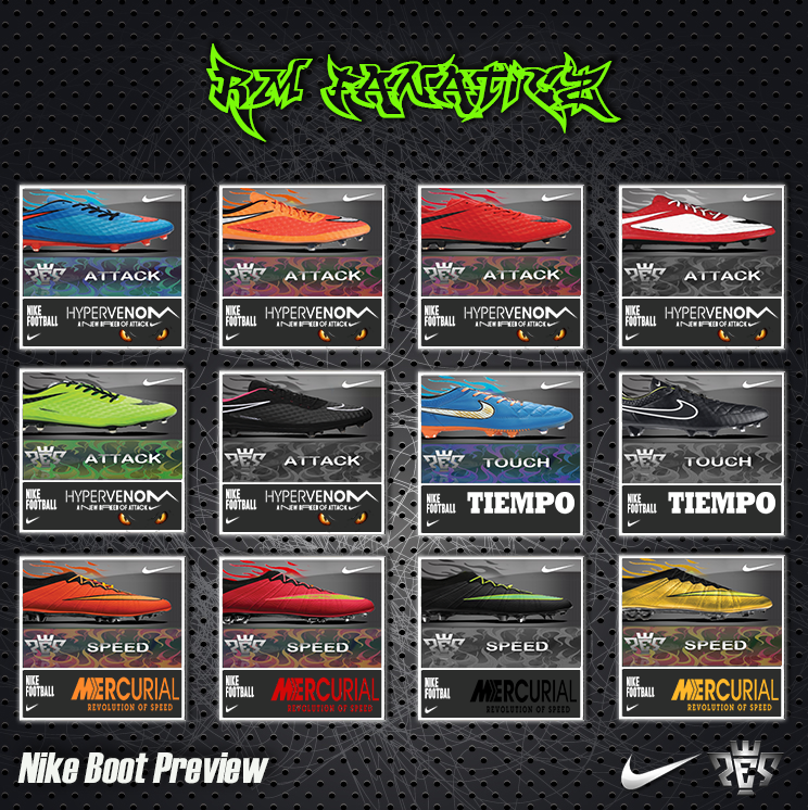 PES 2013 Update NIKE Preview Boot by RM_Fanaticz