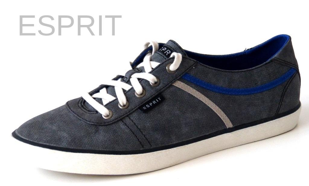 neu esprit damen sneaker schuhe gr 42 sonia lace up grau 014ek1w019 ebay. Black Bedroom Furniture Sets. Home Design Ideas