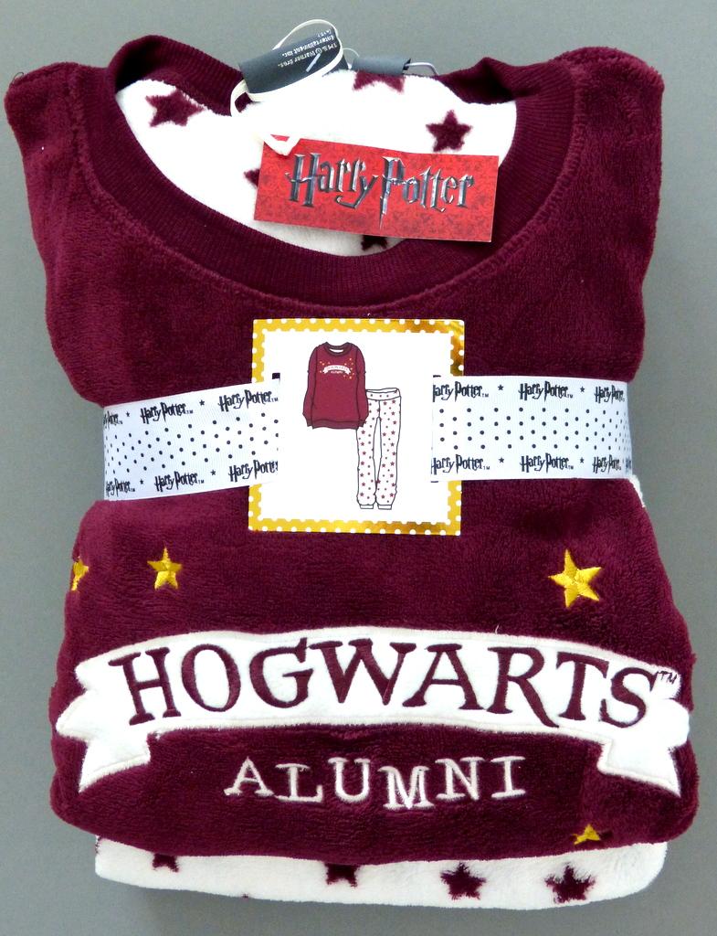 neu harry potter hogwarts primark fleece pyjama schlafanzug hausanzug s m l xl ebay. Black Bedroom Furniture Sets. Home Design Ideas