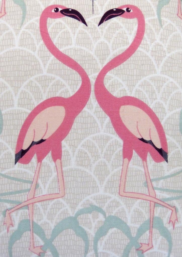 neu primark flamingo 3 tlg doppel king bettw sche set 230x220 wendebettw sche. Black Bedroom Furniture Sets. Home Design Ideas
