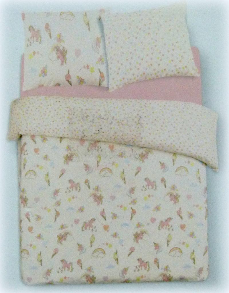 neu primark einhorn bettw sche set 200x200 cm doppel wendebettw sche unicorn ebay. Black Bedroom Furniture Sets. Home Design Ideas