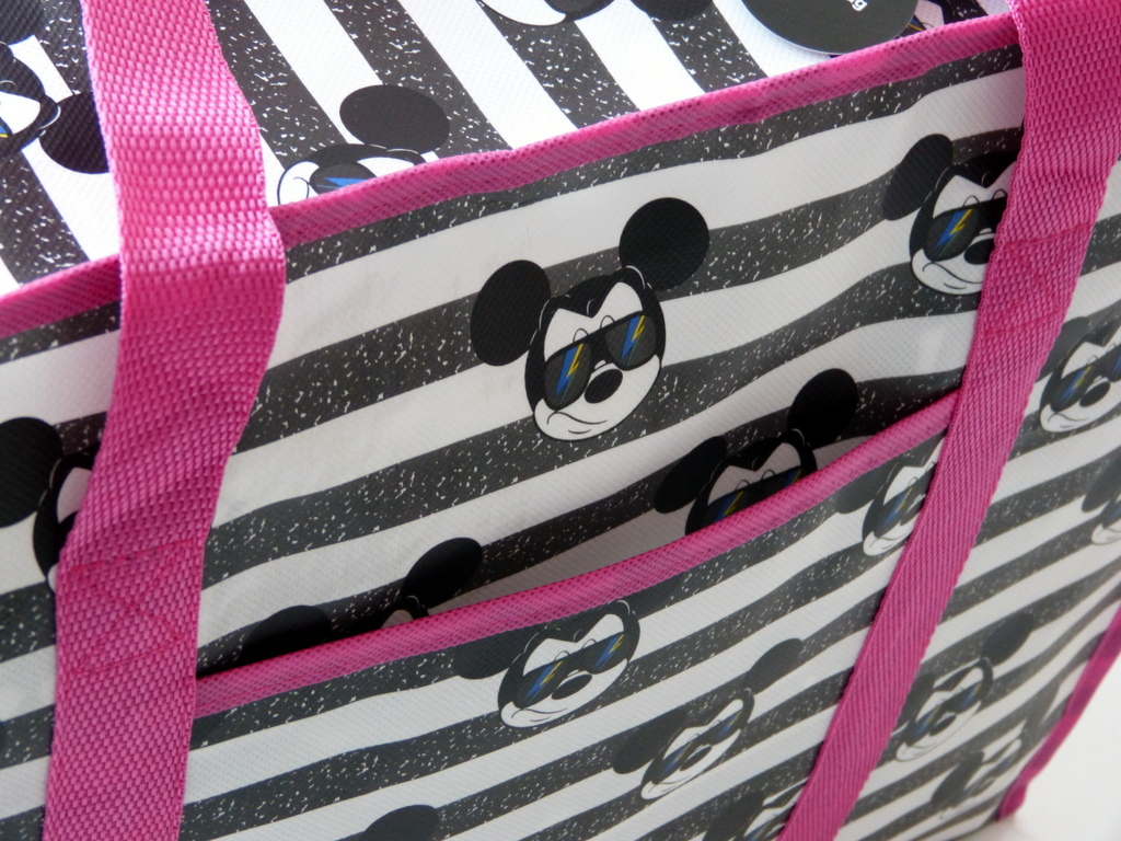neu disney mickey mouse strandtasche einkaufstasche. Black Bedroom Furniture Sets. Home Design Ideas