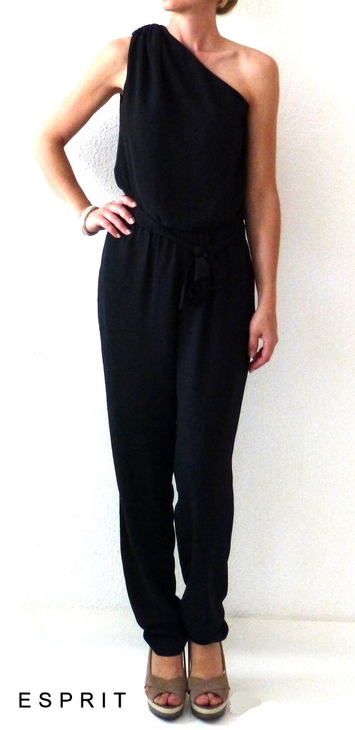 wow esprit festlicher damen overall jumpsuit playsuit 36. Black Bedroom Furniture Sets. Home Design Ideas
